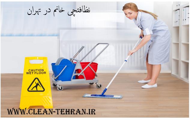 نظافتچی خانم در تهران