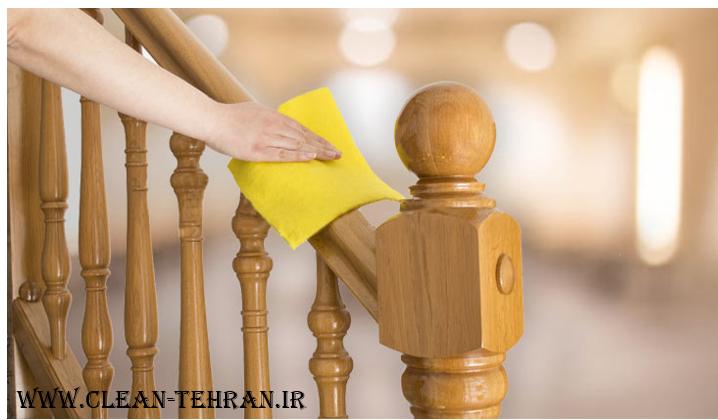 نظافت راه پله ها ومشاعات