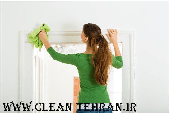 نظافت چی منزل تمیز کردن دیوارها و شستن دیوار ها در تهران